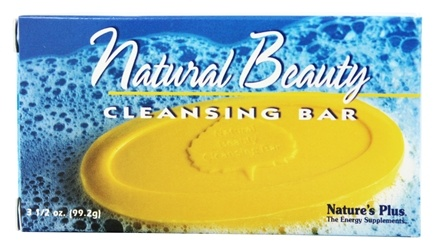 Nature's Plus - Natural Beauty Cleansing Bar - 3.5 oz.