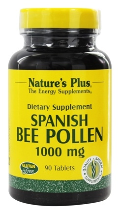 DROPPED: Nature's Plus - Bee Pollen 1000 mg. - 90 Tablets