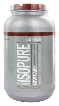 Nature's Best - Isopure Perfect Low Carb Dutch Chocolate - 3 lbs. LUCKY PRICE