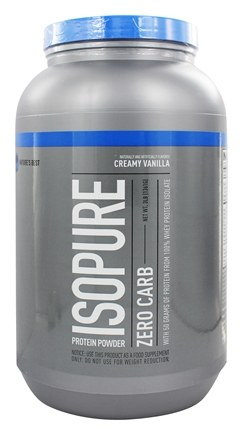 Nature's Best - Isopure Perfect Zero Carb Creamy Vanilla - 3 lbs.