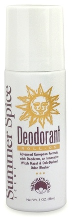 DROPPED: Nature's Gate - Deodorant Roll-On Summer Spice - 3 oz.