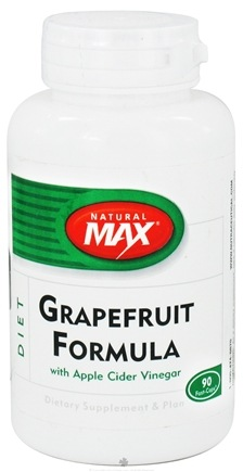 DROPPED: Natural Max - Grapefruit Formula with Apple Cider Vinegar - 90 Capsules