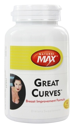 Natural Max - Great Curves Breast Improvement Formula - 60 Capsules