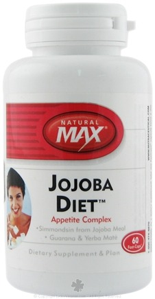 DROPPED: Natural Max - Jojoba Diet - 60 Capsules CLEARANCE PRICED