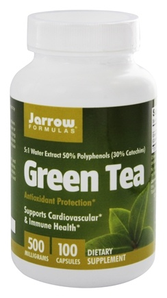 Jarrow Formulas - Green Tea 500 mg. - 100 Capsules