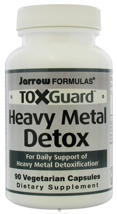 DROPPED: Jarrow Formulas - ToxGuard Heavy Metal Detox - 90 Vegetarian Capsules CLEARANCE PRICED
