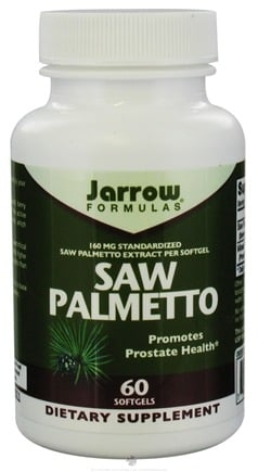 DROPPED: Jarrow Formulas - Saw Palmetto - 60 Softgels CLEARANCE PRICED