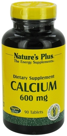 DROPPED: Nature's Plus - Calcium 600 mg. - 90 Tablets