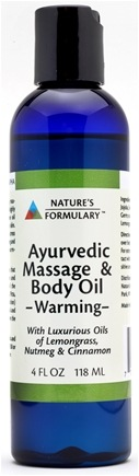 DROPPED: Nature's Formulary - Warming Massage Oil - 0.5 oz.