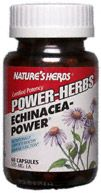 DROPPED: Nature's Herbs - Echinacea-Power - 60 Capsules