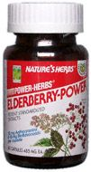 DROPPED: Nature's Herbs - Elderberry-Power - 60 Capsules