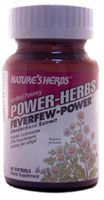 DROPPED: Nature's Herbs - Power Herbs Feverfew Power