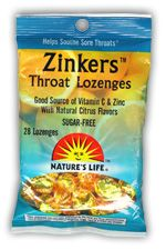 DROPPED: Nature's Life - Zinkers Lozenges Zinc