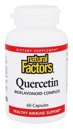 DROPPED: Natural Factors - Quercetin Bioflavonoid Complex - 60 Capsules CLEARANCE PRICED