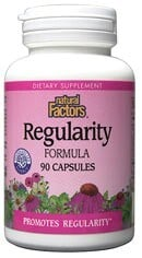 DROPPED: Natural Factors - Regularity Formula - 90 Capsules