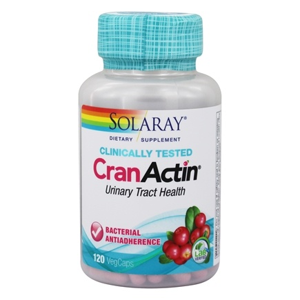Solaray - CranActin Cranberry AF Extract 400 mg. - 120 Capsules