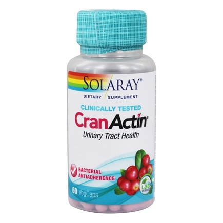 Solaray - CranActin Cranberry AF Extract 400 mg. - 60 Capsules