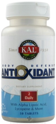DROPPED: Kal - Body Defense Antioxidant - 50 Tablets