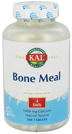 DROPPED: Kal - Bone Meal 1000 mg. - 300 Tablets