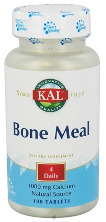 DROPPED: Kal - Bone Meal with 1000 mg Calcium - 100 Tablets CLEARANCE PRICED