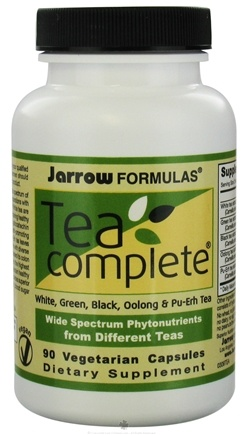 DROPPED: Jarrow Formulas - Tea Complete - 90 Vegetarian Capsules