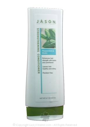 DROPPED: Jason Natural Products - Salon Peppermint & Biotin Strengthening Conditioner - 6.7 oz.