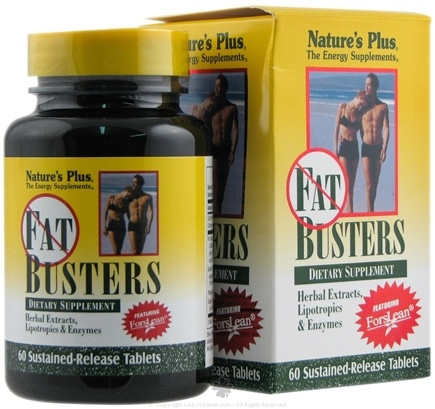 DROPPED: Nature's Plus - Fat Busters - 60 Tablets CLEARANCE PRICED