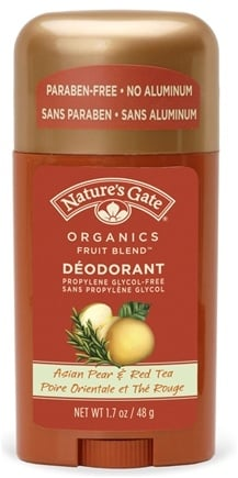 DROPPED: Nature's Gate - Deodorant Stick Organics Fruit Blend Asian Pear & Red Tea - 1.7 oz.
