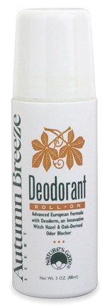 DROPPED: Nature's Gate - Deodorant Roll-On Autumn Breeze - 3 oz.