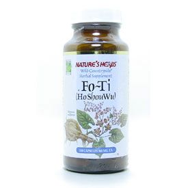 DROPPED: Nature's Herbs - Fo-Ti Herb - 100 Capsules