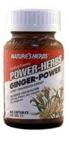 DROPPED: Nature's Herbs - Ginger-Power - 60 Capsules