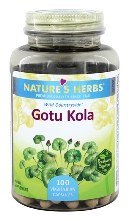 Nature's Herbs - Gotu Kola - 100 Capsules