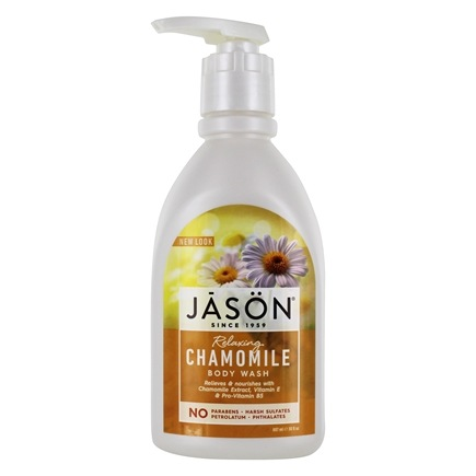 Jason Natural Products - Satin Shower Body Wash Chamomile - 30 oz.