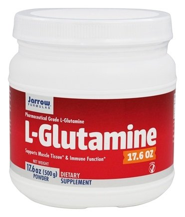 Jarrow Formulas - L-Glutamine - 17.6 oz.