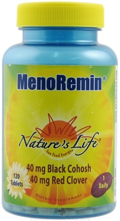 DROPPED: Nature's Life - MenoRemin - 120 Tablets