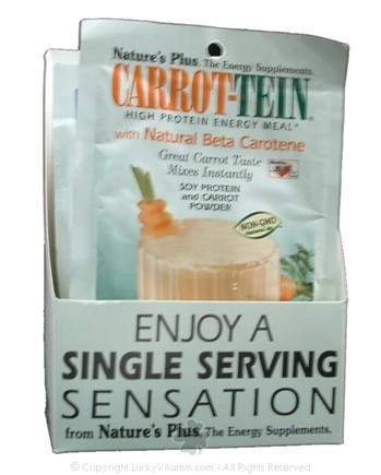 DROPPED: Nature's Plus - Carrot-Tein Carrot