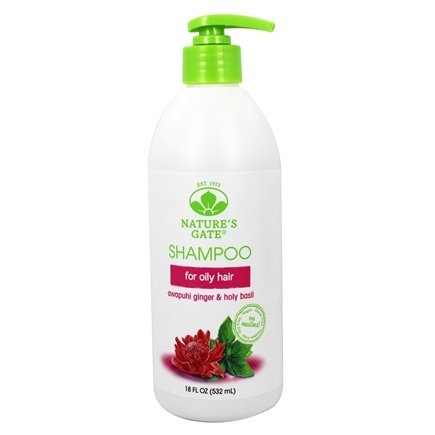 Nature's Gate - Vegan Shampoo Volumizing Awapuhi Ginger + Holy Basil - 18 oz.