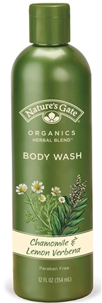 DROPPED: Nature's Gate - Body Wash Organics Herbal Blend Chamomile & Lemon Verbena - 12 oz.