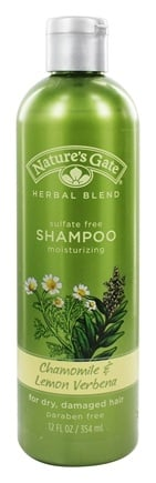 Nature's Gate - Shampoo Organics Herbal Blend Moisturizing Chamomile & Lemon Verbena - 12 oz.