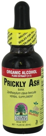 DROPPED: Nature's Answer - Prickly Ash Bark Organic Alcohol - 1 oz. CLEARANCE PRICED