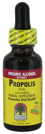 DROPPED: Nature's Answer - Propolis Resin Organic Alcohol - 1 oz. CLEARANCE PRICED