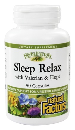Natural Factors - Sleep Relax Formula - 90 Capsules