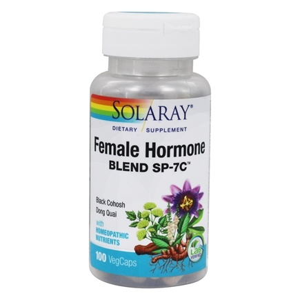 Solaray - Female Hormone Blend SP-7C - 100 Capsules