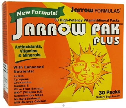 DROPPED: Jarrow Formulas - Jarrow Pak Plus - 30 Packet(s)