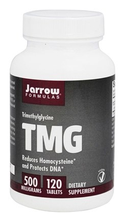 Jarrow Formulas - TMG (Trimethylglycine) 500 mg. - 120 Tablets