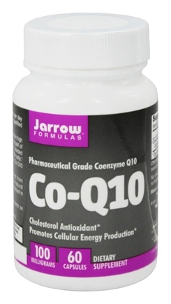 Jarrow Formulas - Co-Q10 100 mg. - 60 Capsules