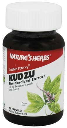 DROPPED: Nature's Herbs - Kudzu Extract 100 mg. - 60 Capsules CLEARANCED PRICED