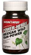 DROPPED: Nature's Herbs - Mexican Wild Yam-Power - 60 Capsules
