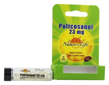 Nature's Life - Policosanol 23 mg. - 60 Tablets