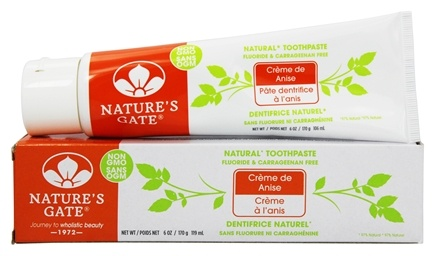 Nature's Gate - Natural Toothpaste Creme de Anise - 6 oz.